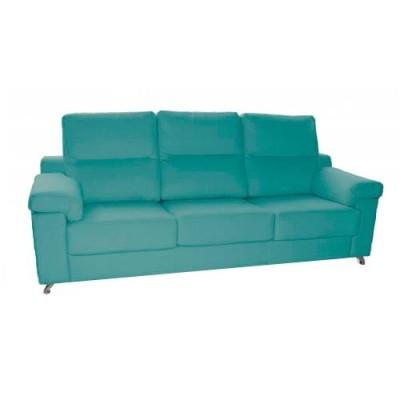 Sofá con asiento de muelles...