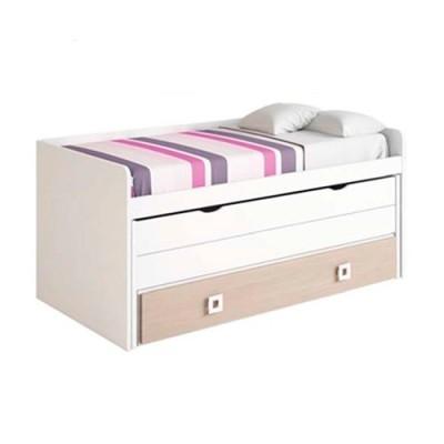 Compacto con cama oculta