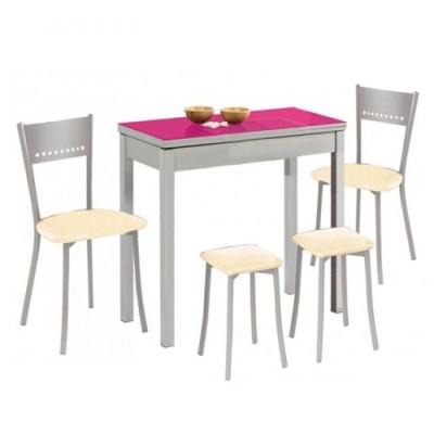 Conjunto mesa cocina con...