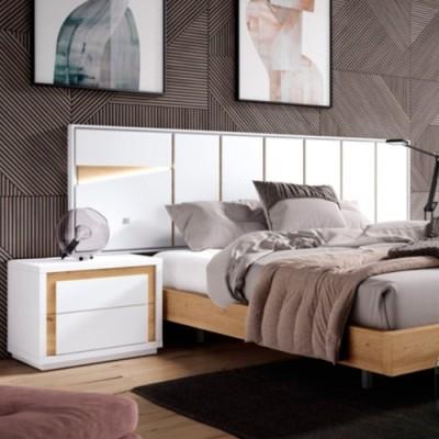 Dormitorio galería con...