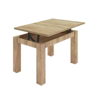 Mesa elevable rectangular