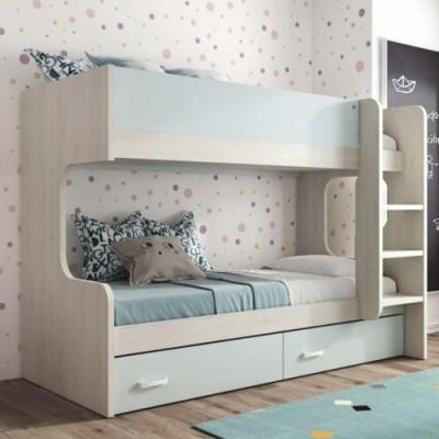 Litera forma derecha 2 camas