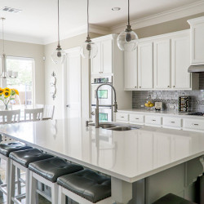 Muebles de cocina con isla